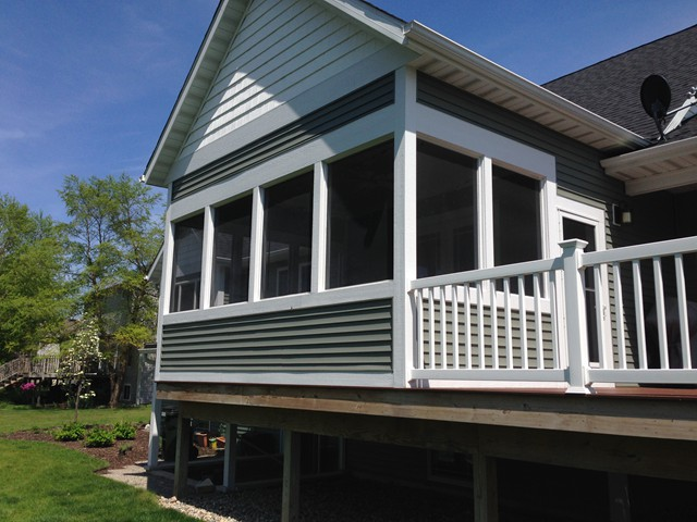 Decks all season rooms nicholson custom home building for All season rooms